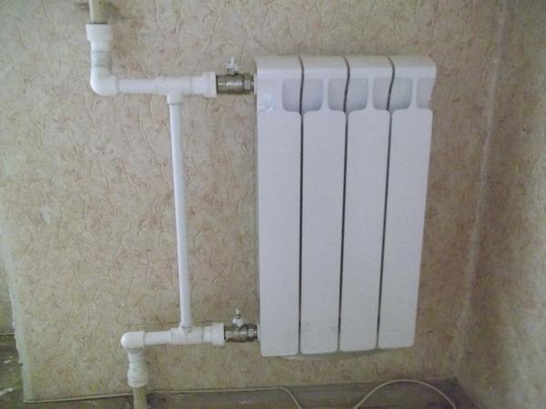 радиатора отопления.