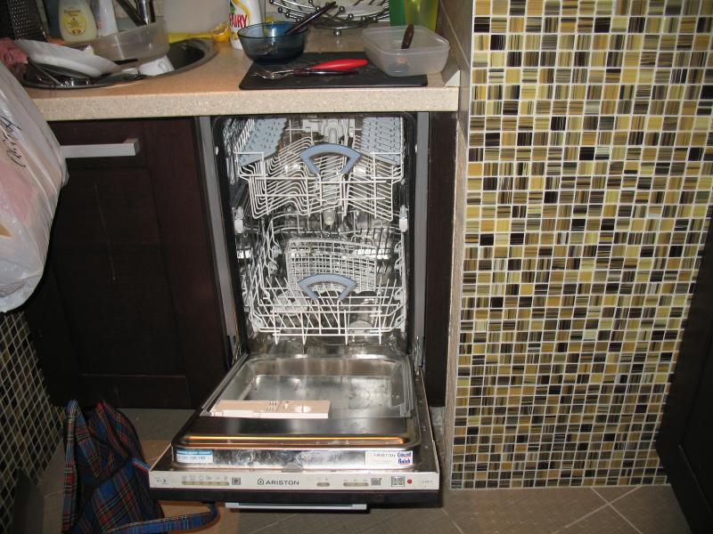 Монтаж и установка посудомоечной машины